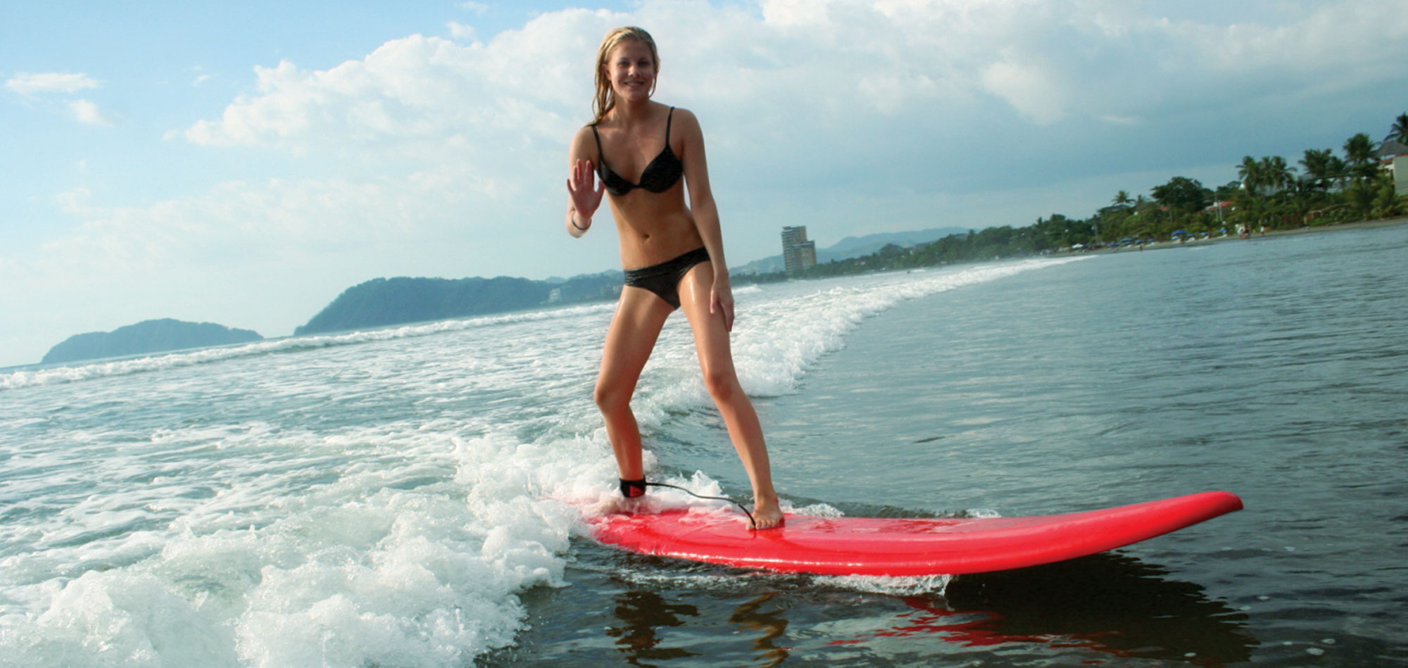 Learn to surf at The Pura Vida Land!